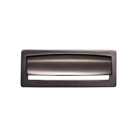 "Top Knobs TK937 Hollin 3-3/4"" Center to Center Cup Cabinet Pull from the Lynwood Series"