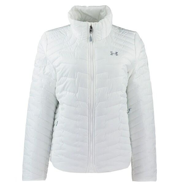 754d4fda4be Under Armour Women's ColdGear Reactor Jacket - White - M