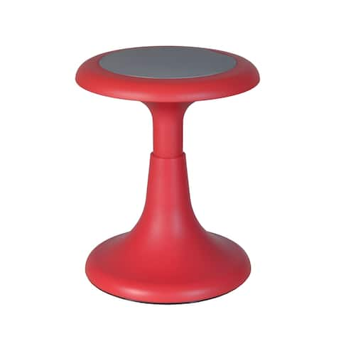 "Gain 17"" Wobble Stool, Red"