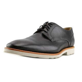 Boss Hugo Boss Swill Men Round Toe Leather Black Oxford