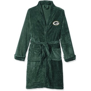 Green Bay Packers Silk Touch Bath Robe, Large/X-Large - multi