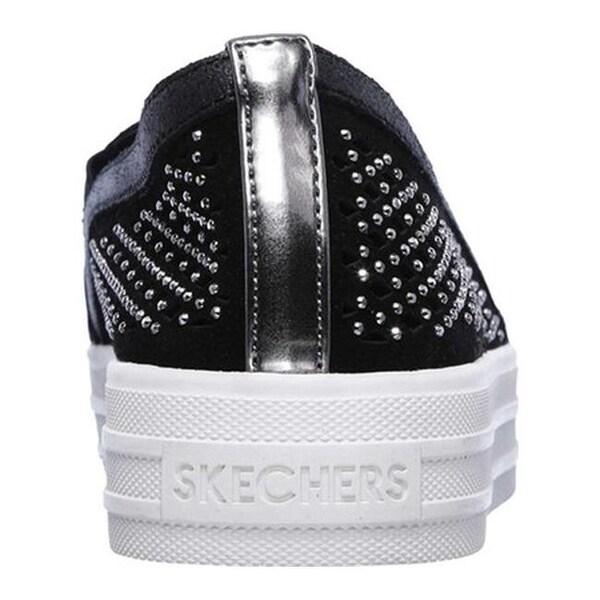 Shop Skechers Women's Double Up Diamond Girl Flatform Slip