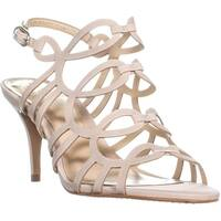 Vince Camuto Petina Ankle Strap Heeled Sandals, Nude