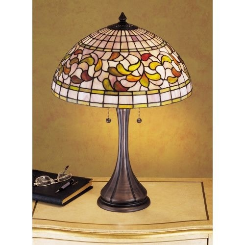 Meyda tiffany 27824 stained glass tiffany table lamp from the meyda tiffany 27824 stained glass tiffany table lamp from the turning leaf collection na free shipping today overstock 19857546 aloadofball Gallery