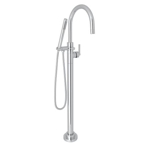 Rohl M2287LM/TO Lombardia Single Hole Floor Mounted Tub Filler Trim