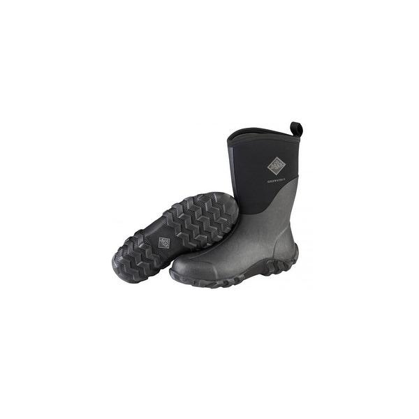 f87ecb75ff9 Shop Muck Boots Black Men's Edgewater 2 Mid Boot w/ Airmesh Lining ...