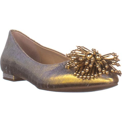 Katy Perry The The Rayann Ballet Flats, Gold - 7.5 US / 37.5 EU