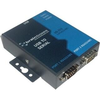Brainboxes US-313 Brainboxes US-313 - USB 2 Port RS422/485 1MBaud - USB