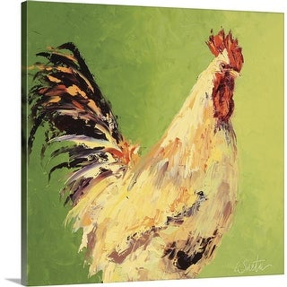 """""""Fall Rooster"""" Canvas Wall Art"""