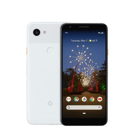 Google Pixel 3A 64GB GSM/CDMA Unlocked Android Phone - Clearly White - Clearly White
