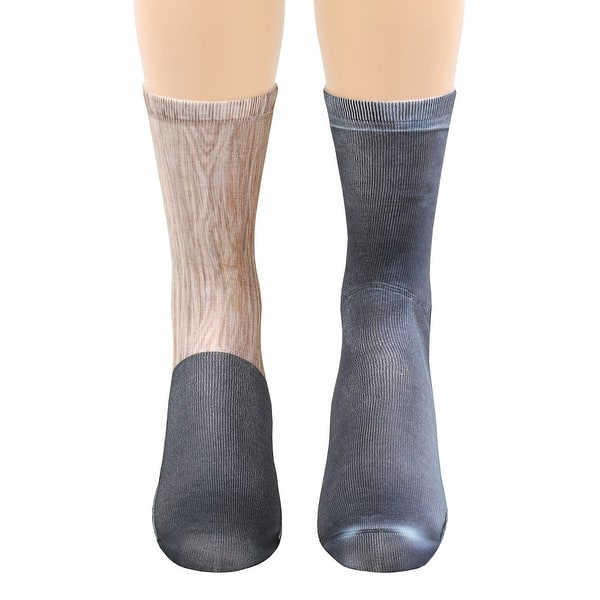 Shop What On Earth Unisex Sublimated Pirate Peg Leg Socks Wooden