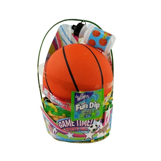 Basketball themed easter gift basket free shipping on orders basketball themed easter gift basket free shipping on orders over 45 overstock 18985538 negle Image collections