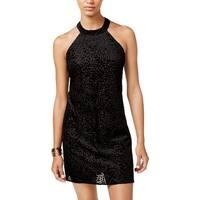 Trixxi Womens Juniors Party Dress Sleeveless Sheath