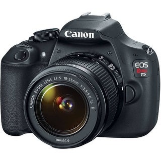 Canon EOS Rebel T5 DSLR Camera with 18-55mm Lens