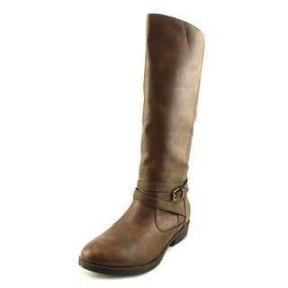Baretraps Thunder Youth Round Toe Synthetic Brown Mid Calf Boot|https://ak1.ostkcdn.com/images/products/is/images/direct/e26e2d20342c46a0b377e65259a1d30c696fabaf/Baretraps-Thunder-Round-Toe-Synthetic-Mid-Calf-Boot.jpg?impolicy=medium