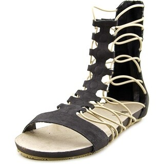 Mia Game Open Toe Synthetic Gladiator Sandal