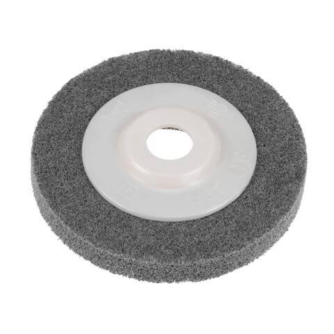 4 Inch Nylon Fiber Polishing Wheel Buffing Disc for Angle Grinders - Nylon Fiber Wheel - Pack of 1