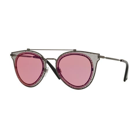 Valentino VA2019 3039F6 53 Grey Woman Pilot Sunglasses