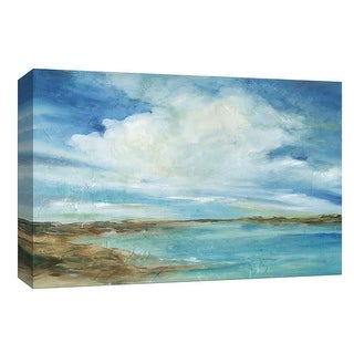 """PTM Images 9-148037  PTM Canvas Collection 8"""" x 10"""" - """"Sea and Sky"""" Giclee Coastlines Art Print on Canvas"""