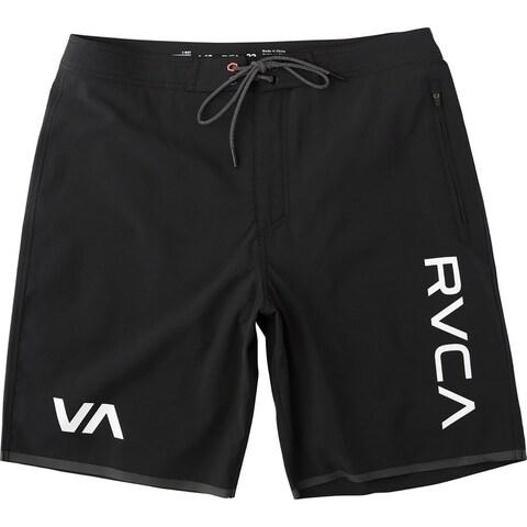 RVCA Staff III Dual Layer Quick Drying 4-Way Stretch Shorts - Black