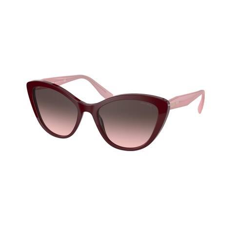 Miu Miu MU 05XS USH146 55 Bordeaux Woman Cat Eye Sunglasses