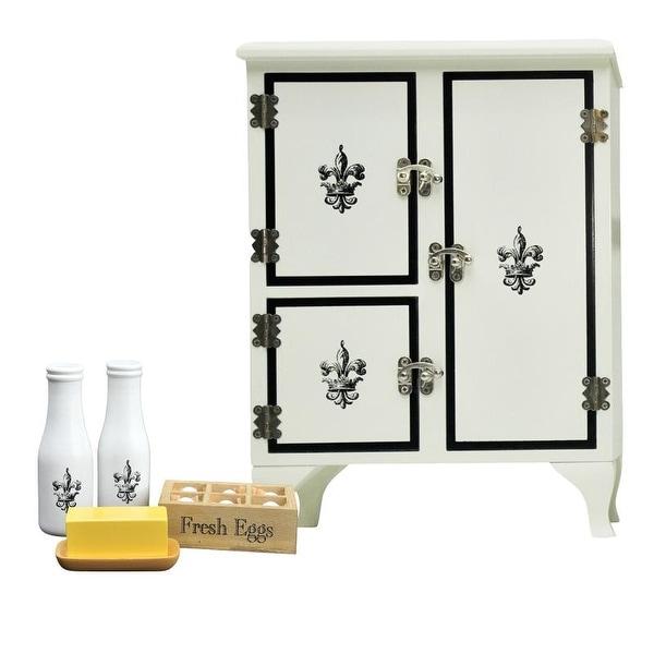 Shop Kitchen Furniture Icebox Fridge Pantry Items Sized For 18