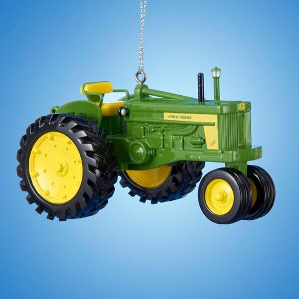 "2.25"" John Deere 720 Diesel Tractor Decorative Christmas Ornament"