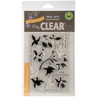 "Hero Arts Clear Stamps 4""X6""-Color Layering Fuchsia"