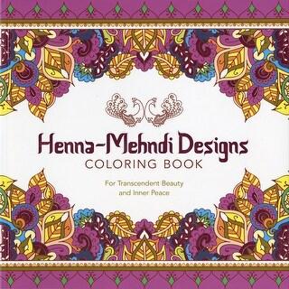 Lark Books-Henna-Mehndi Designs Coloring Book