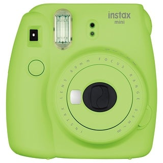 Fuji Film 16550655 Instax Mini 9 Instant Film Camera - Lime Green