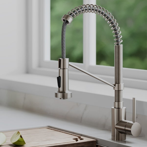 Kraus KPF-1610 Bolden Commercial 2-Function Pulldown Kitchen Faucet. Opens flyout.