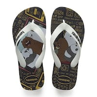 Havaianas Kids' Cartoon Sandal Black