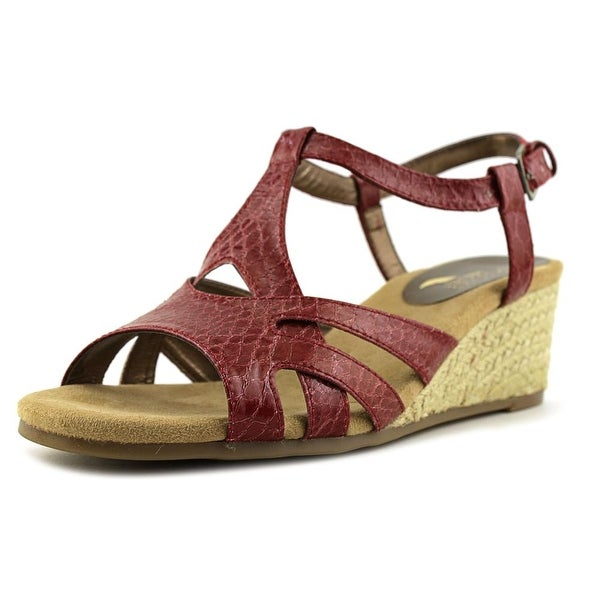 Aerosoles Outer Space Women Red Snake Sandals