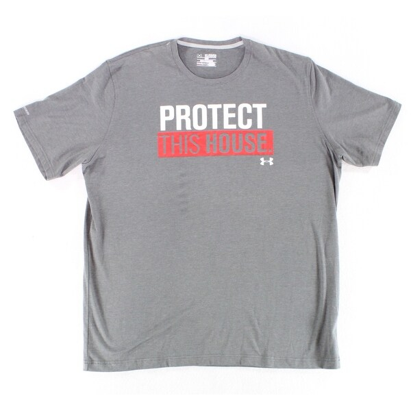 7e3f5c5e Shop Under Armour NEW Charcoal Gray Mens Size 2XL Graphic Print Tee Shirt -  Free Shipping On Orders Over $45 - Overstock - 18376216