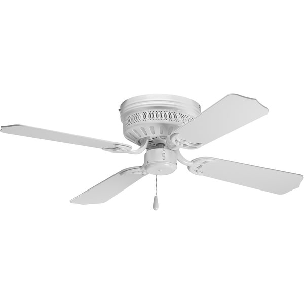 "AirPro Collection 42"" Four-Blade Hugger Ceiling Fan - 11.080"" x 12.890"" x 12.890"""