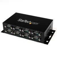 Startech Icusb2328i 8Port Usb To Db9 Rs232 Serial Adapter Hub Wall Mountable