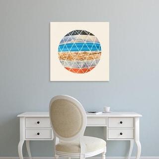 Easy Art Prints Terry Fan's 'Eco Geodesic' Premium Canvas Art