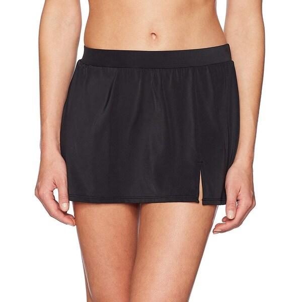 Brand - Coastal Blue Women's Control Swimwear Bikini Bottom, Black, L ... - 12. Opens flyout.
