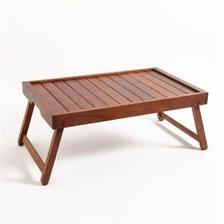 Gibson Eco Acacia Wood Bed Tray