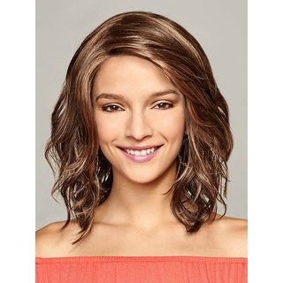 Kendall by Henry Margu Wigs - Synthetic, Lace Front, Monofilament Top - 12gr golden brown
