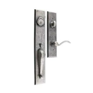 Miseno MHDW-HLD10LH Salamanca Solid Brass Left Hand Single Cylinder Keyed Entry Handleset