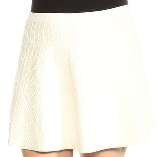 Womens Ivory Casual Skirt Size XL