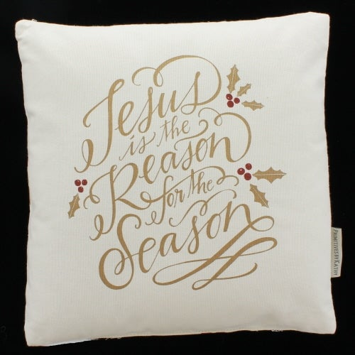 Jesus is The Reason Pillow