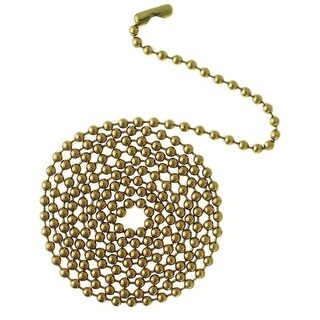 """Westinghouse 77012 Beaded Chain with Connector, 12"""""""