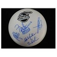 Signed Strokes The Evans 12 in Drumhead by Julian Casablancas Nick Valensi Albert Hammond Jr Nikola