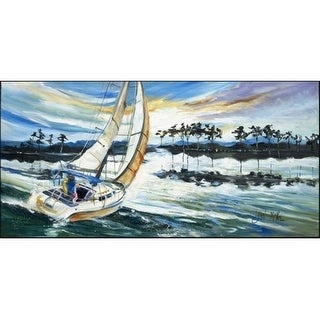 Carolines Treasures JMK1319HRM2858 Sailboats Lake Martin Indoor & Outdoor Runner Mat 28 x 58 in.