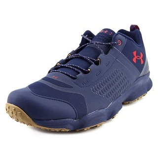 Under Armour Speedfit Hike Low Men Round Toe Synthetic Blue Hiking Shoe