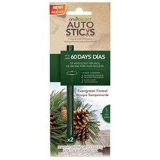 Enviroscent 1125036 Autosticks Fragrance Diffuser Sticks Evergreen