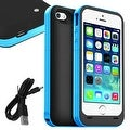 2500mAh External Battery Backup Power Bank Charger Case Cover For iPhone 5S 5 - Thumbnail 8