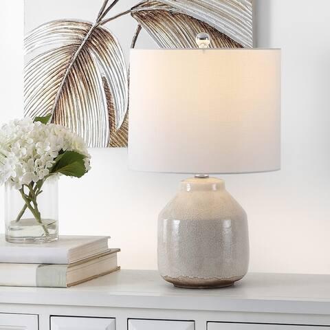 """SAFAVIEH Lighting Traken 22-inch LED Table Lamp - 13"""" W x 13"""" L x 21.5"""" H"""